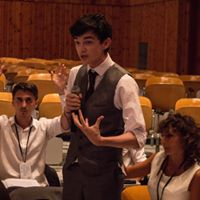 Liskeard School Josh Debating In Greece
